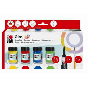 Marabu GLASS PAINT STARTER Set 13069000087*