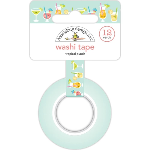 Doodlebug TROPICAL PUNCH Washi Tape Sweet Summer 5890 Preview Image