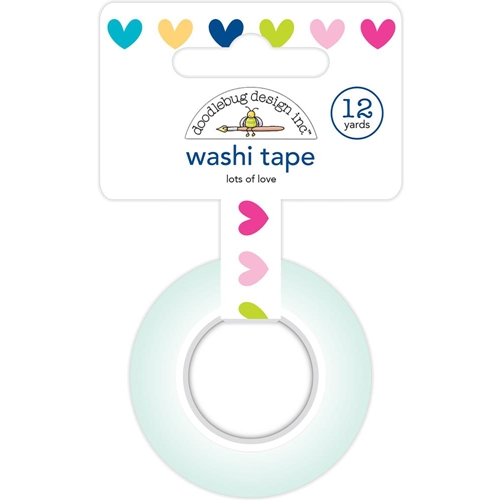 Doodlebug LOTS OF LOVE Washi Tape Hello 5893 Preview Image