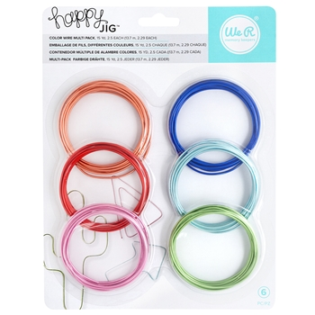 We R Memory Keepers COLOR WIRE Multipack Happy Jig 660278*