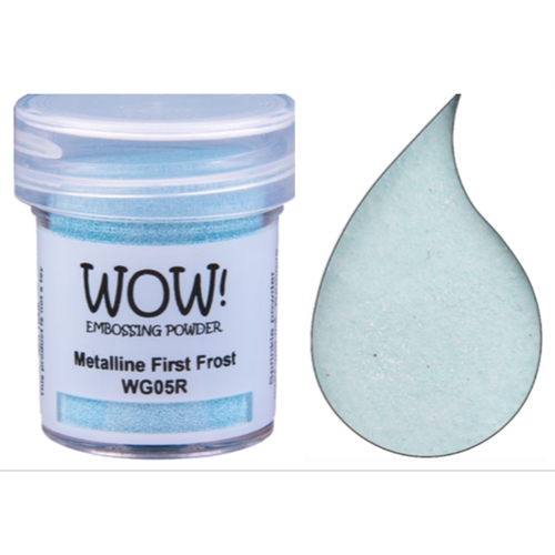 WOW Embossing Powder METALLINE FIRST FROST WG05R Preview Image