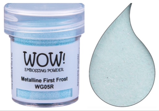 WOW Embossing Powder METALLINE FIRST FROST WG05R zoom image