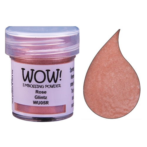 WOW Embossing Powder ROSE GLINTZ WU05R Preview Image