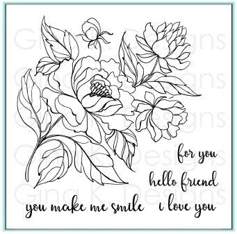 Gina K Designs YOU MAKE ME SMILE Clear Stamps 4365 Preview Image