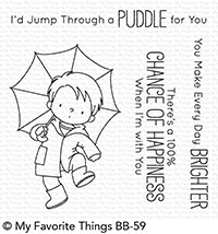 My Favorite Things PUDDLE JUMPER Clear Stamps BB59 zoom image
