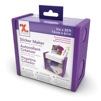 Xyron 3 INCH DISPOSABLE STICKER MAKER Permanent 100111