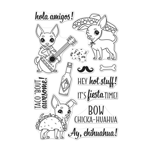 Hero Arts Clear Stamps IT'S FIESTA TIME CM252 Preview Image