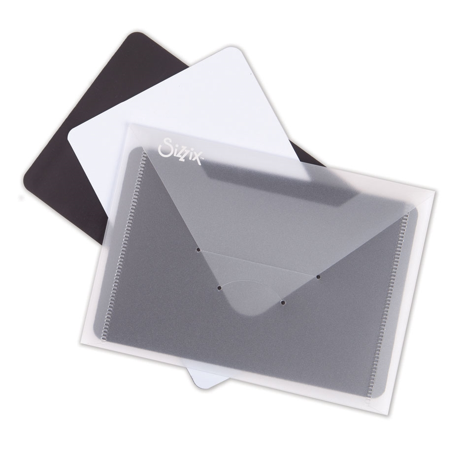 Sizzix PLASTIC ENVELOPE WITH MAGNETIC SHEETS 3 Pack 662870 zoom image