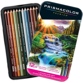 Prismacolor LANDSCAPE COLORED PENCIL SET OF 12 2023753*