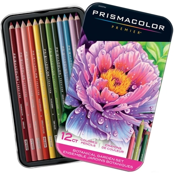 Prismacolor BOTANICAL GARDEN COLORED PENCIL SET OF 12 2023752