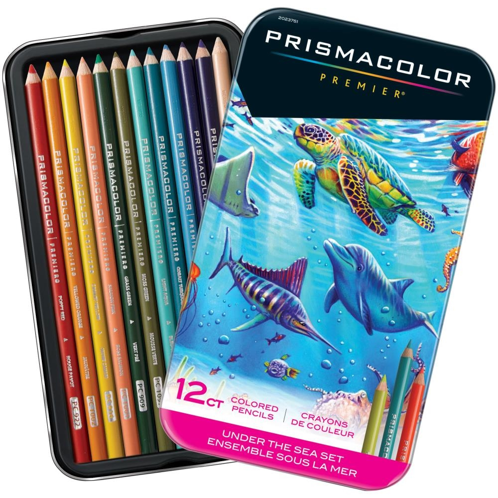 Prismacolor UNDER THE SEA COLORED PENCIL SET OF 12 2023751* zoom image