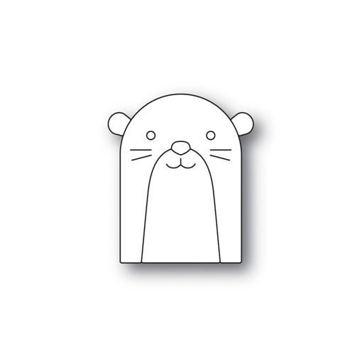 Simon Says Stamp PICTURE BOOK OTTER Wafer Dies s522 Fluttering By Preview Image