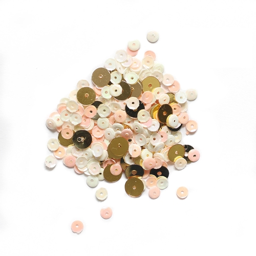 Simon Says Stamp PEACHES AND CREAM Confetti Sequins pacs18 Preview Image