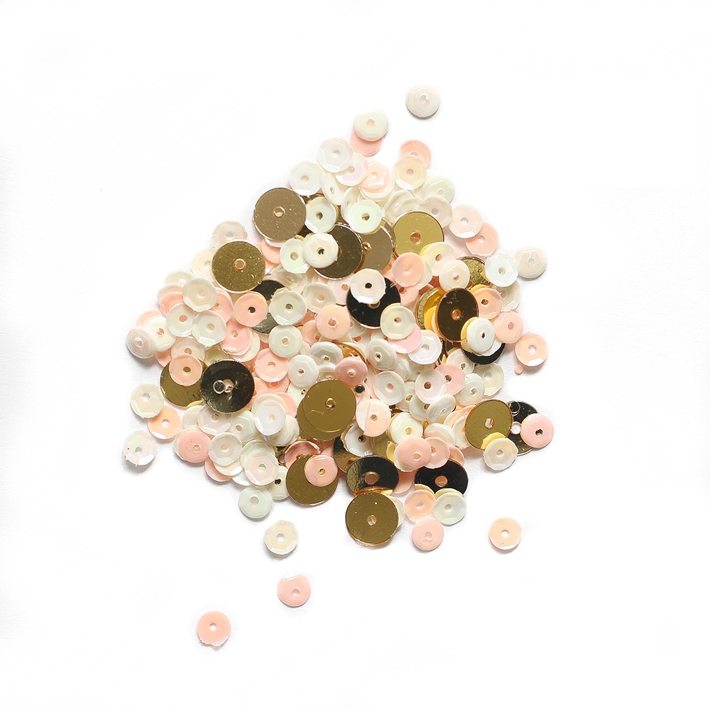 Simon Says Stamp PEACHES AND CREAM Confetti Sequins pacs18 zoom image