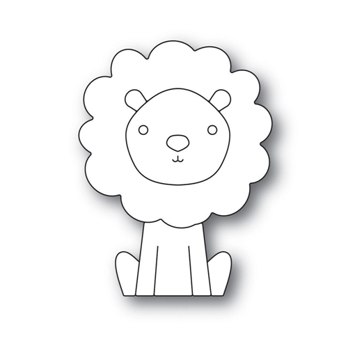 Simon Says Stamp PICTURE BOOK LION Wafer Dies s517 Fluttering By * Preview Image