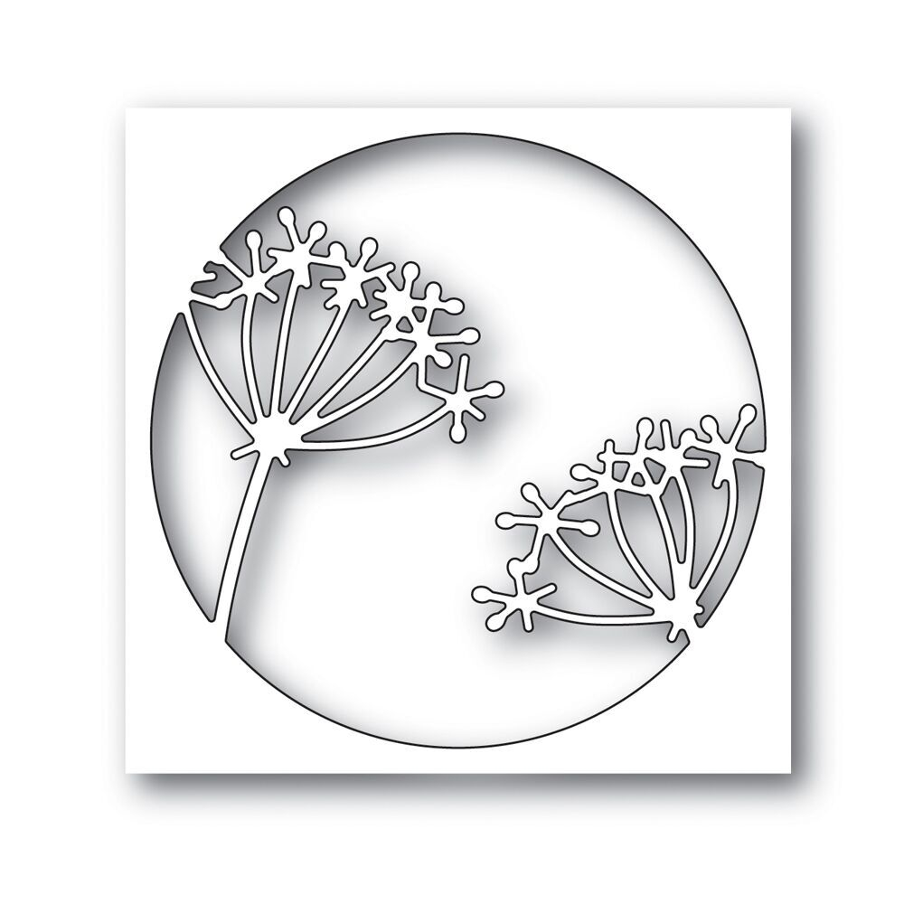 Simon Says Stamp TWINKLE FLOWER CIRCLE Wafer Dies s551 Fluttering By zoom image