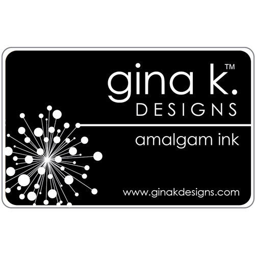 Gina K Designs JET BLACK AMALGAM Ink Pad 4020 Preview Image