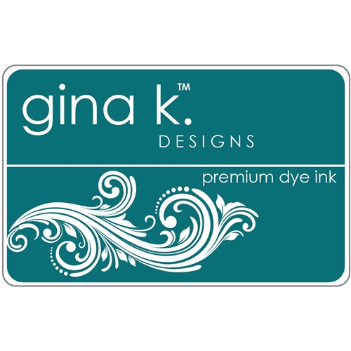 Gina K Designs TRANQUIL TEAL Premium Dye Ink Pad 4235 Preview Image