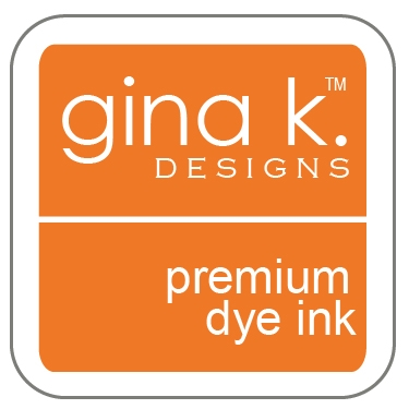 Gina K Designs TANGERINE TWIST Cube Premium Dye Ink Mini Pad 4068 Preview Image