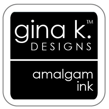 Gina K Designs JET BLACK AMALGAM Cube Ink Mini Pad 4020 zoom image