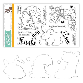 Simon Says Stamps And Dies SHOWERS & FLOWERS set317sf
