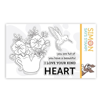 Simon Says Clear Stamps TAKE HEART sss101862