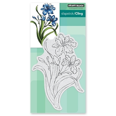 Penny Black Cling Stamp SUMMER GLOW Rubber Unmounted 40-610 Preview Image