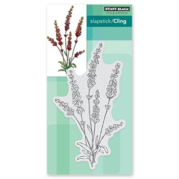 Penny Black Cling Stamp TRANQUIL BUDS Rubber Unmounted 40 599*