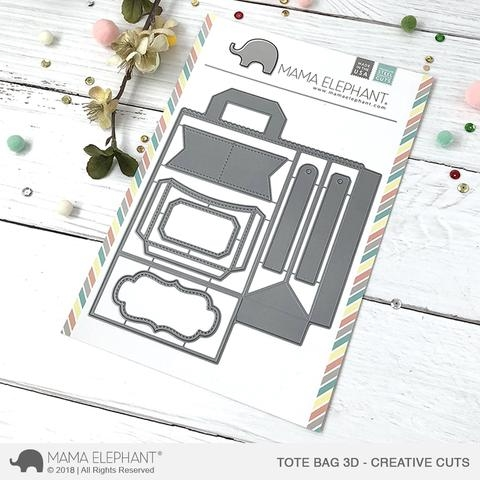 Mama Elephant TOTE BAG 3D Creative Cuts Steel Dies* Preview Image