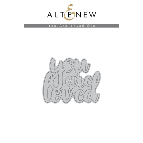 Altenew YOU ARE LOVED Die Set ALT2249 Preview Image