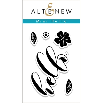 Altenew MINI HELLO Clear Stamp Set ALT2233