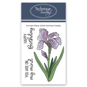 Technique Tuesday IRIS Clear Stamps 02632