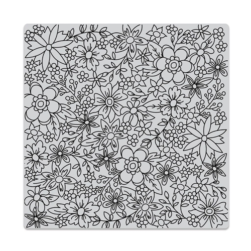 Hero Arts Cling Stamp FLOWERS FOR COLORING BOLD PRINTS CG736 Preview Image