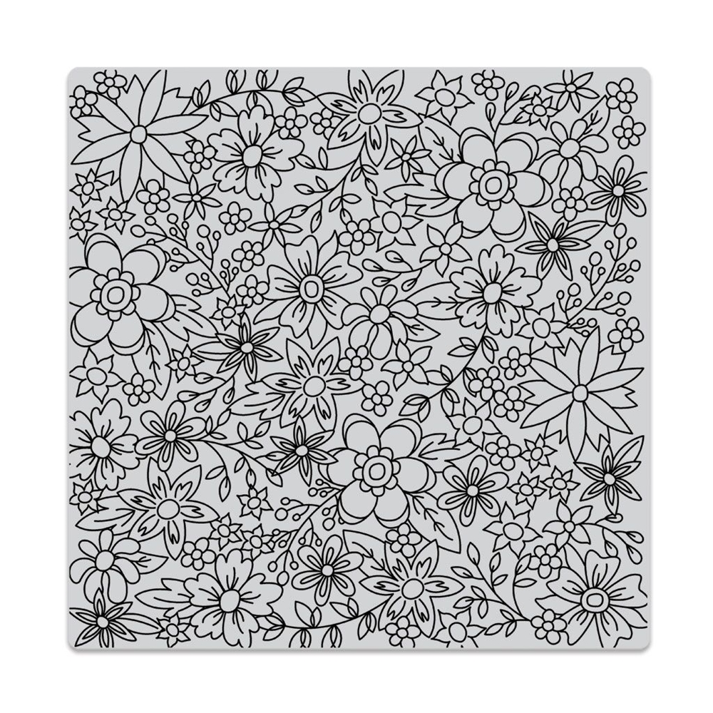 Hero Arts Cling Stamp FLOWERS FOR COLORING BOLD PRINTS CG736 zoom image