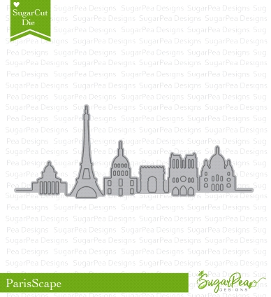 SugarPea Designs PARISSCAPE SugarCuts Dies spd-00281 Preview Image