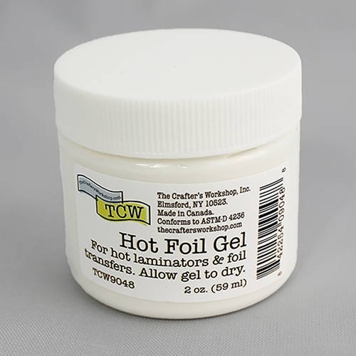 TCW Hot Foil Transfer Gel