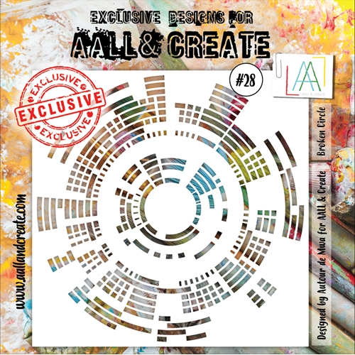 AALL & Create STENCIL 28 6x6 aal10028 Preview Image