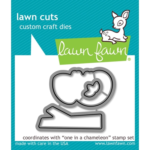 Lawn Fawn ONE IN A CHAMELEON Die Cuts LF1550 Preview Image
