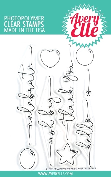 Avery Elle Clear Stamps FLOATING WISHES ST 18 17 zoom image