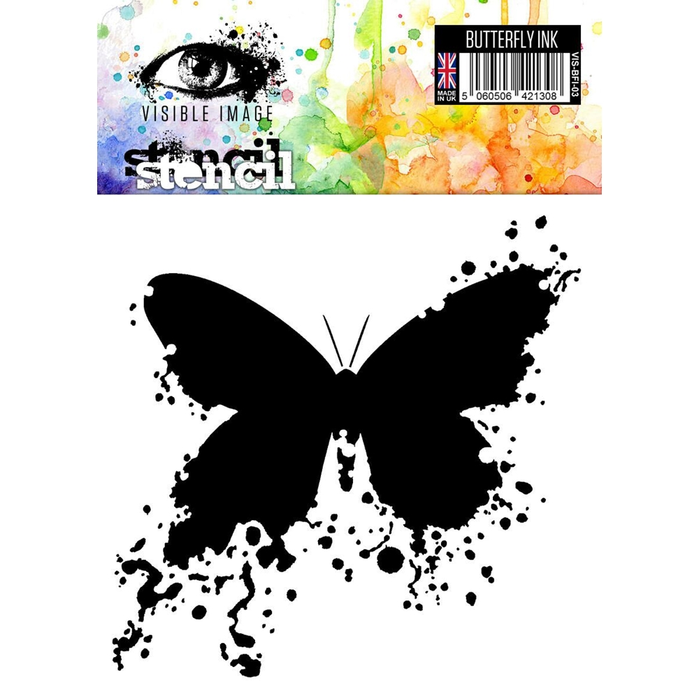 Visible Image BUTTERFLY INK Stencil VIS-BFI-03 zoom image