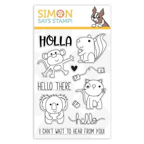 Simon Says Clear Stamps HELLO THERE sss101845 Sending Sunshine * Preview Image