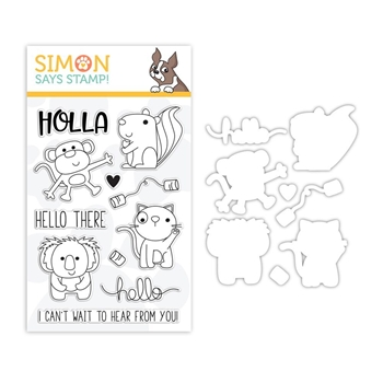 Simon Says Stamps And Dies HELLO THERE set321ht Sending Sunshine
