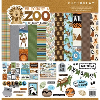 PhotoPlay WE BOUGHT A ZOO 12 x 12 Collection Pack wbz8954