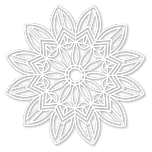 Simon Says Stamp Stencil SOLAR BURST ssst121424 Sending Sunshine Preview Image