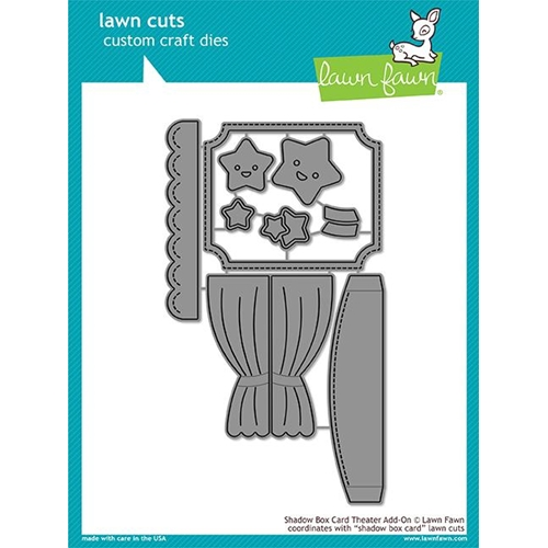 Lawn Fawn SHADOW BOX THEATER ADD ON Die Cuts LF1706* Preview Image