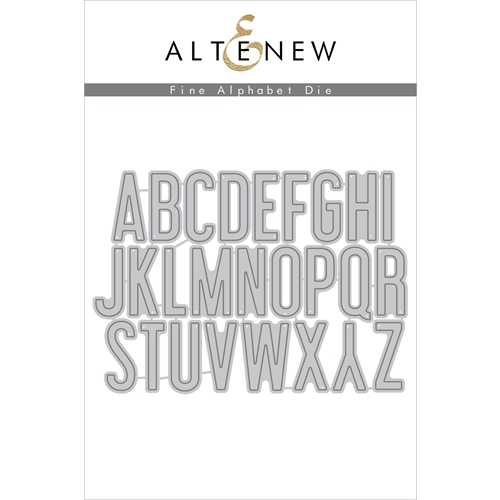 Altenew FINE ALPHABET Dies ALT2272 Preview Image