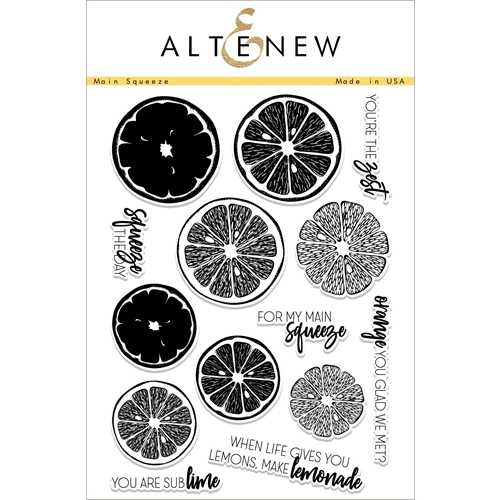 Altenew MAIN SQUEEZE Clear Stamps ALT2267 Preview Image