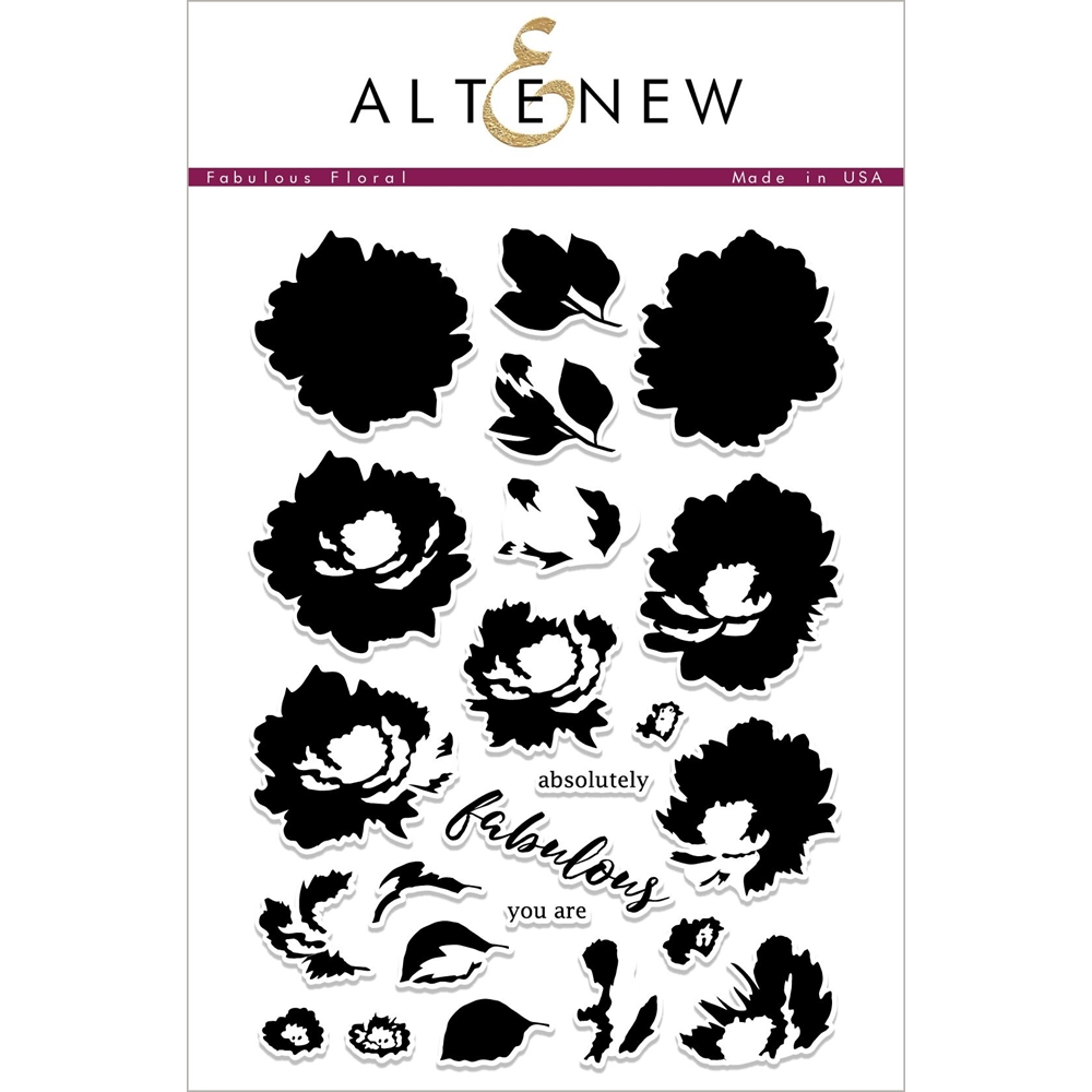 Altenew FABULOUS FLORAL Clear Stamps ALT2261* zoom image