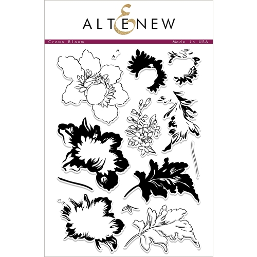 Altenew CROWN BLOOM Clear Stamps ALT2259 Preview Image