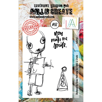 AALL & Create GABRIEL 87 Clear Stamp Set aal00087*